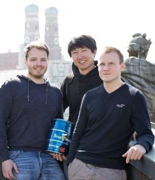 Das Gründerteam von Braufässchen