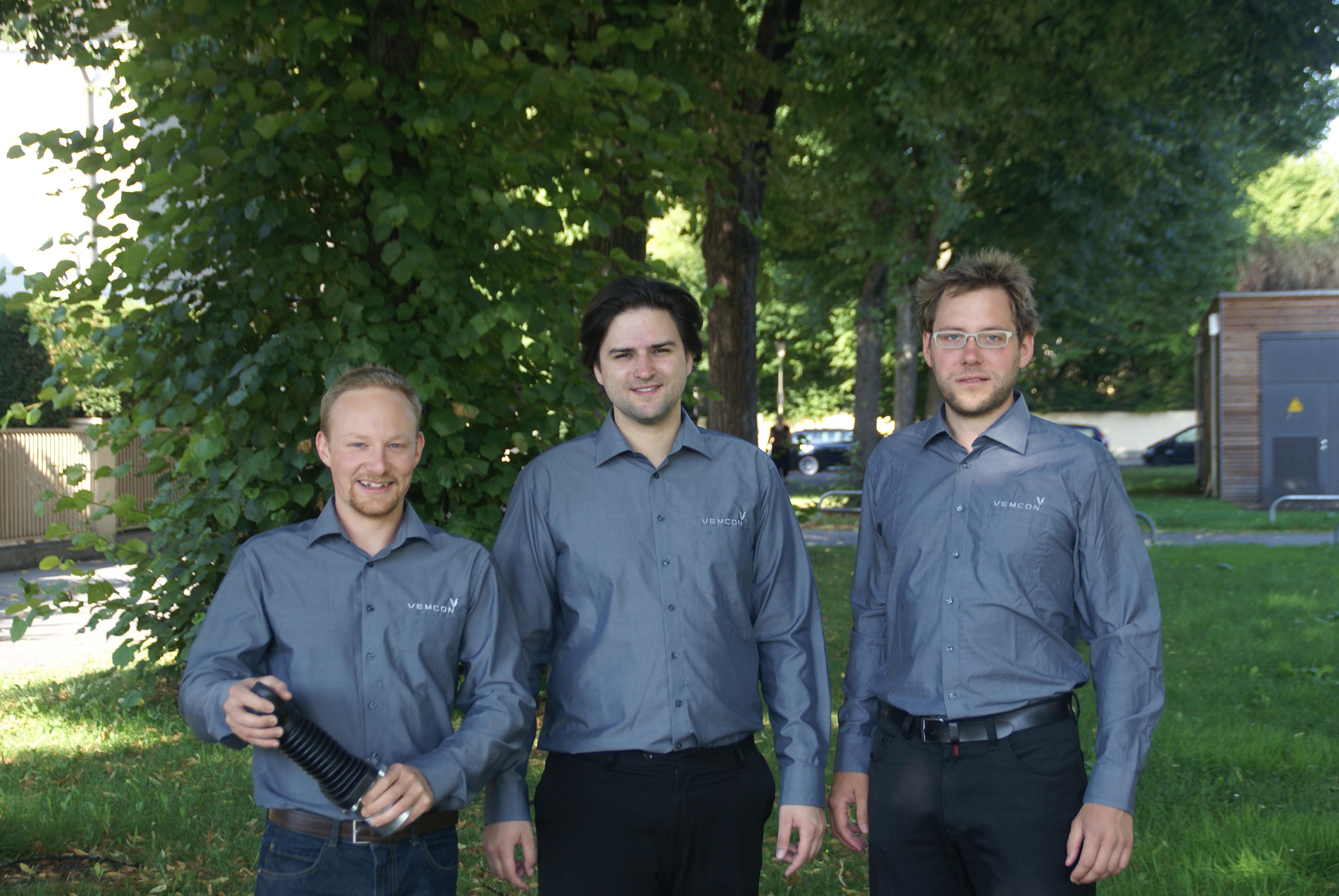 Das Gründerteam von Vemcon