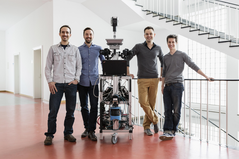 The founding team of NavVis