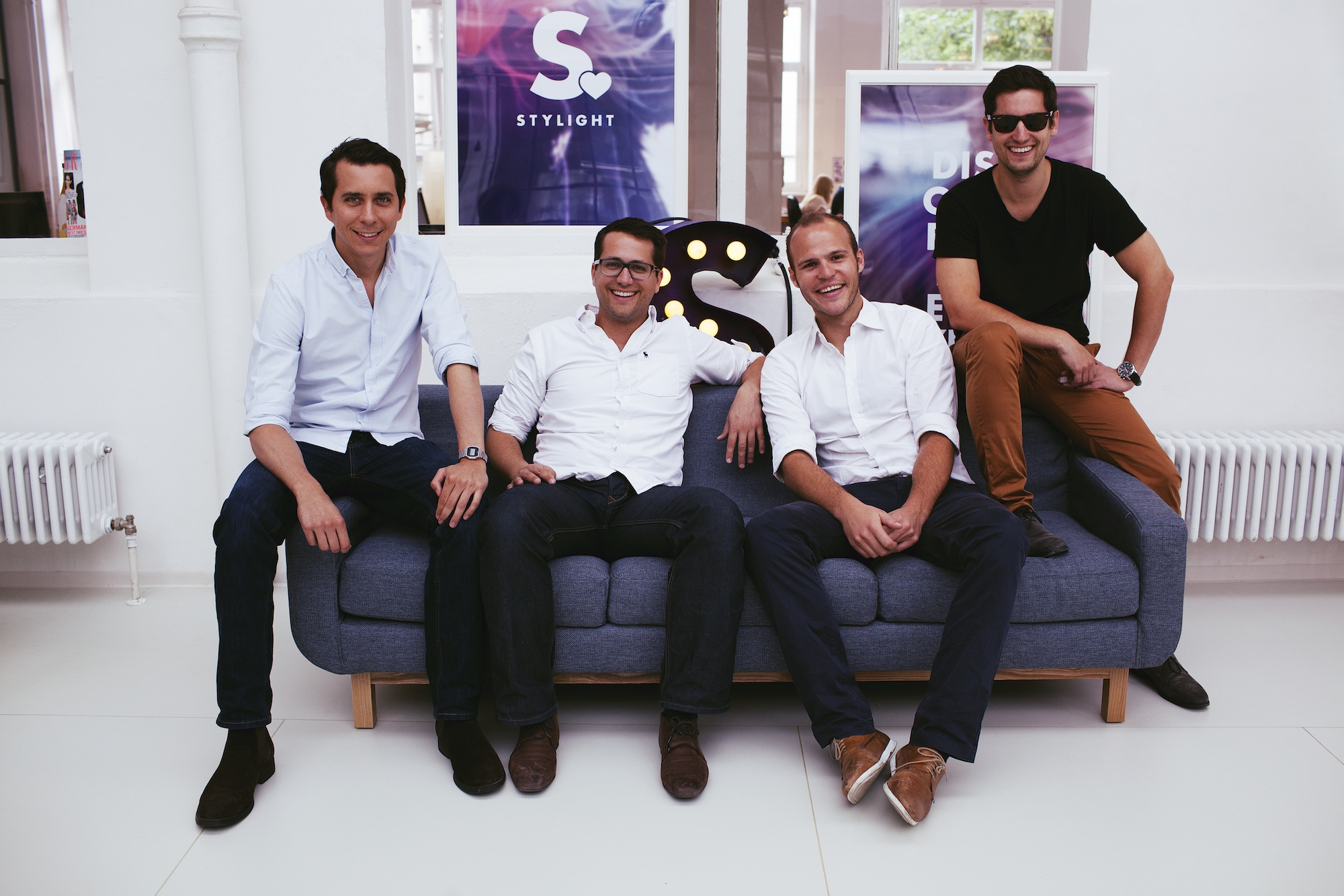 The founding team of STYLIGHT
