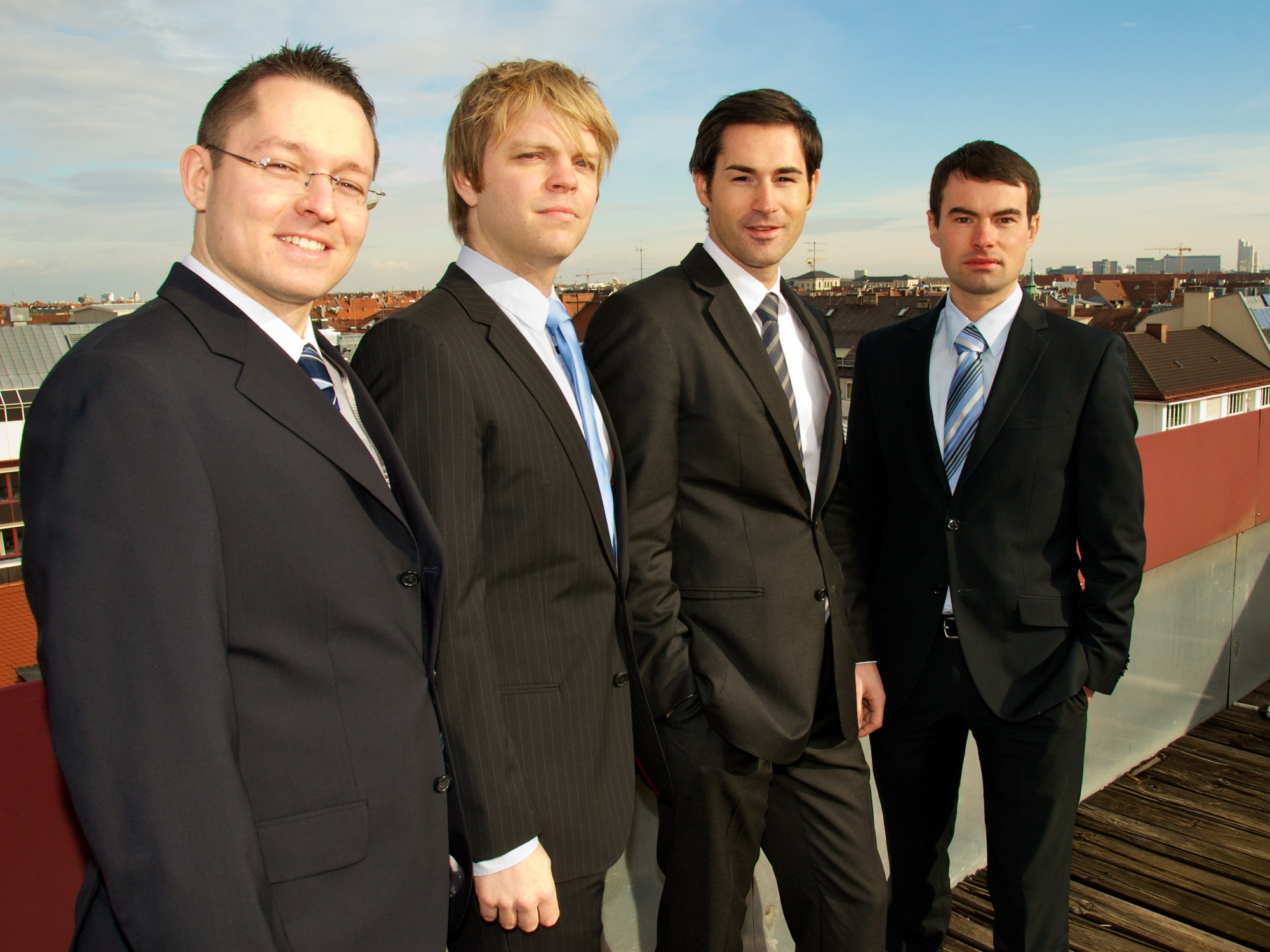The founding team of fos4X
