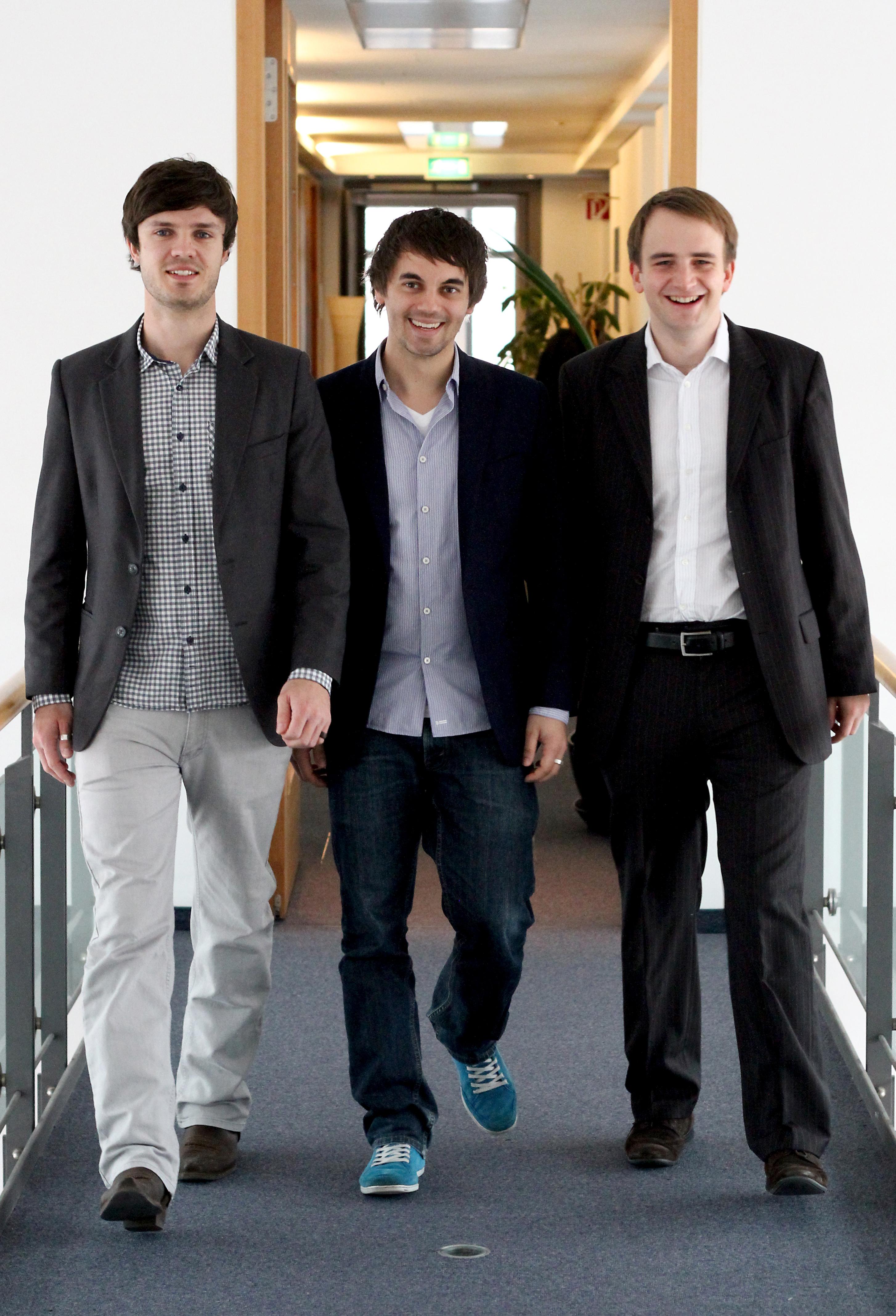 Das Gründerteam von Testbirds