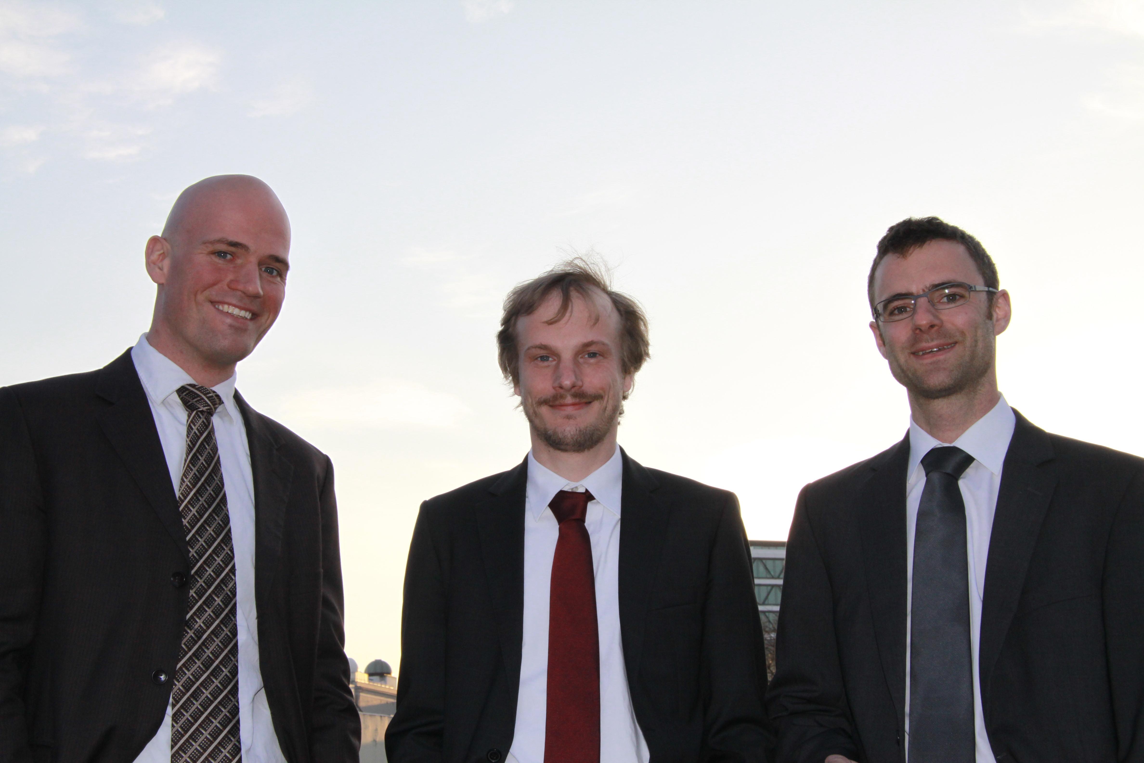 The founding team of EXTEND3D