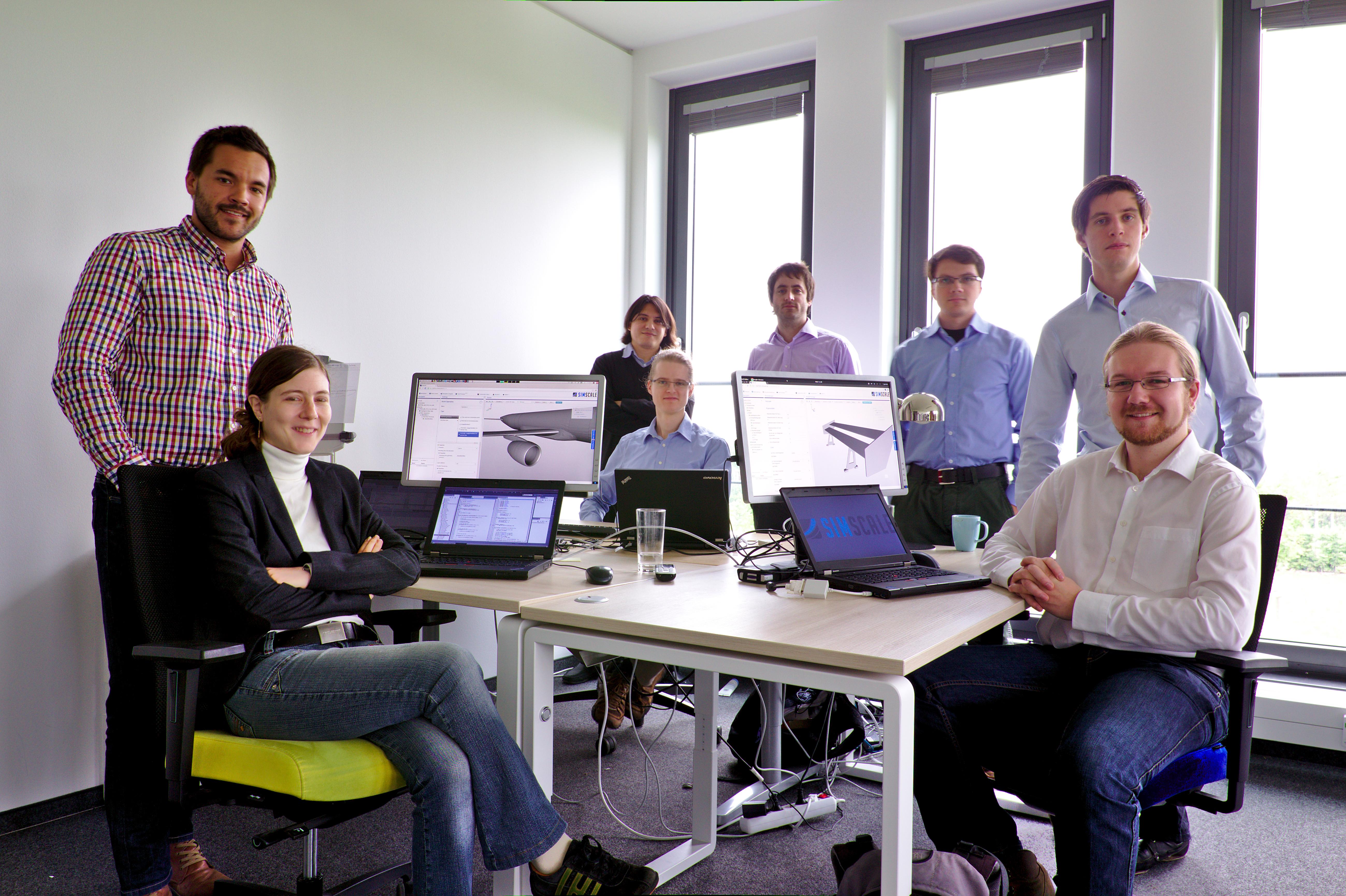 The SimScale team