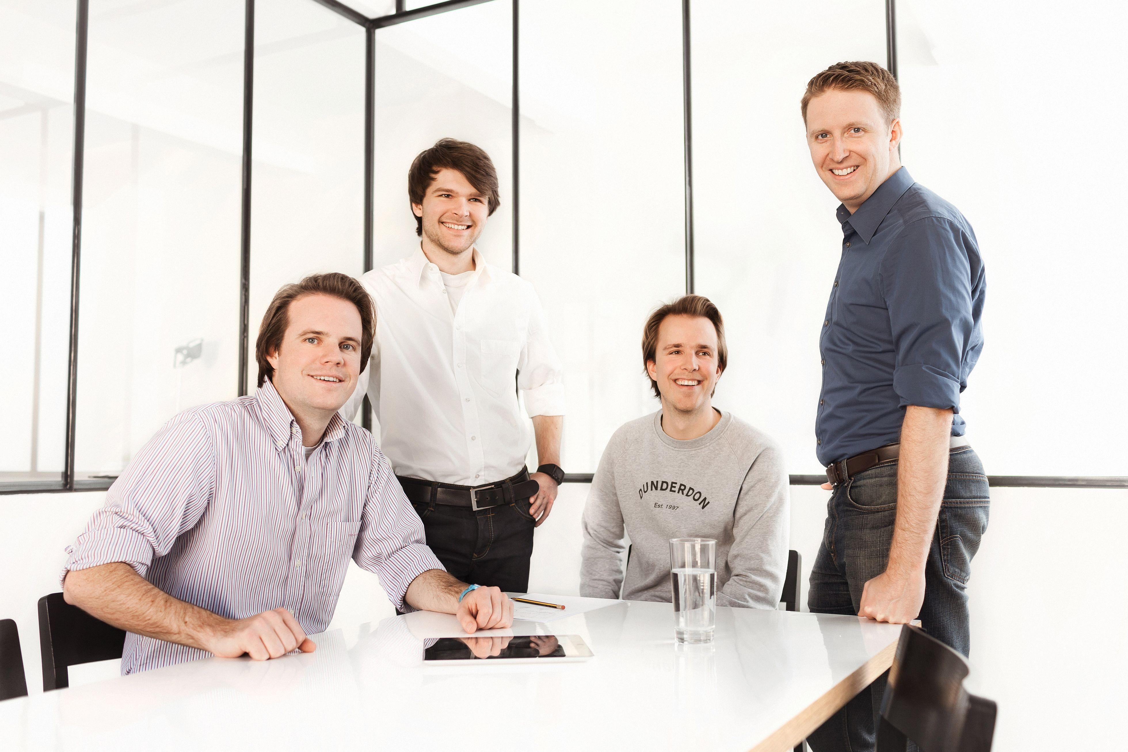 Das Gründerteam von tado°