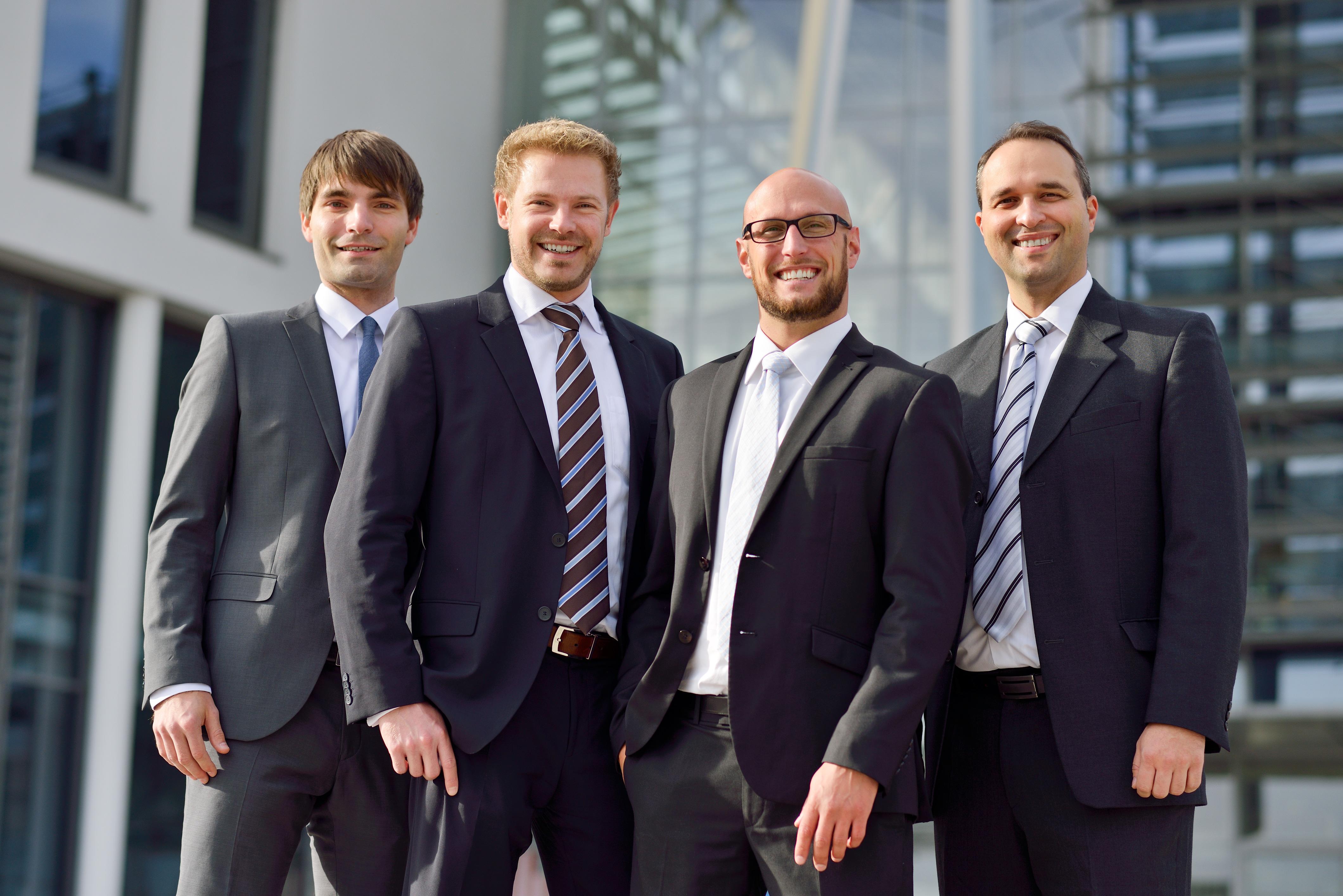 The founding team of Cevotec