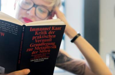 Immanuel Kant book cover