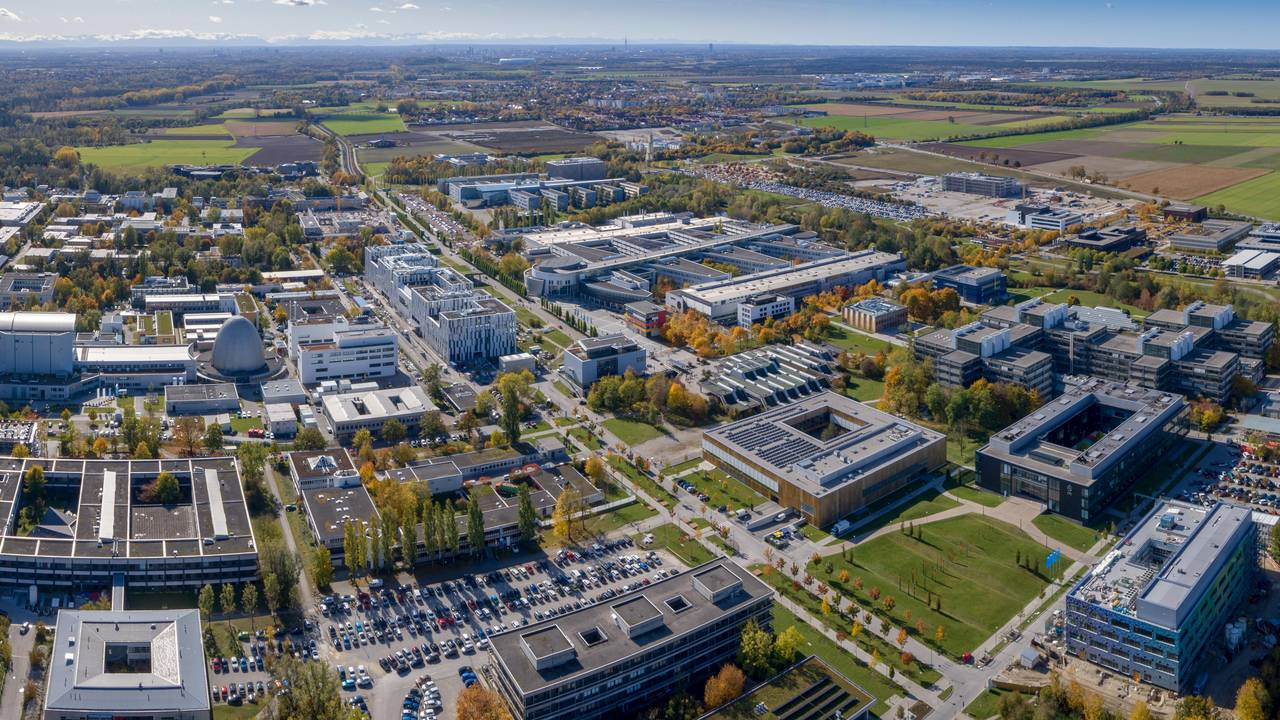 The Garching campus.