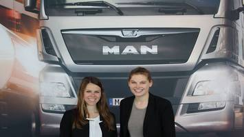 Sarah Legner bei der MAN Truck and Bus AG