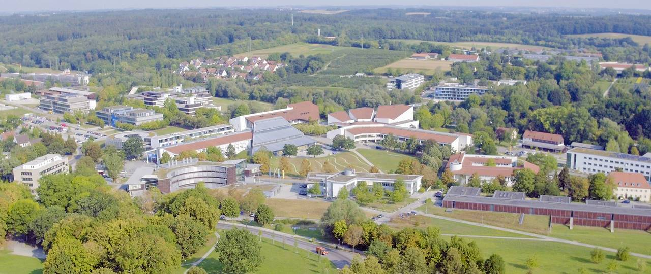 Aerial photo of the Weihenstephan campus