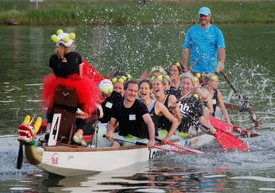 Dragon Boat at race