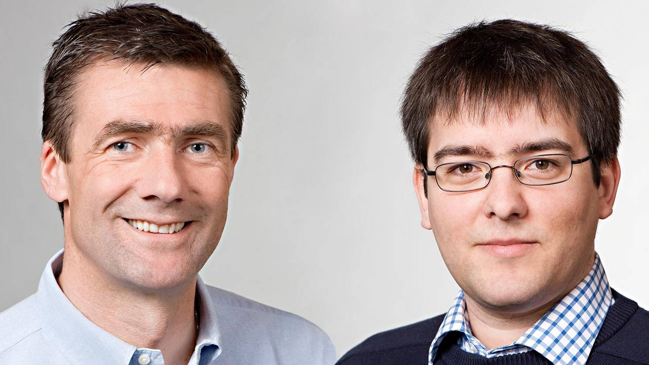 Prof. Thorsten Bach (links) und Prof. Thomas Neumann