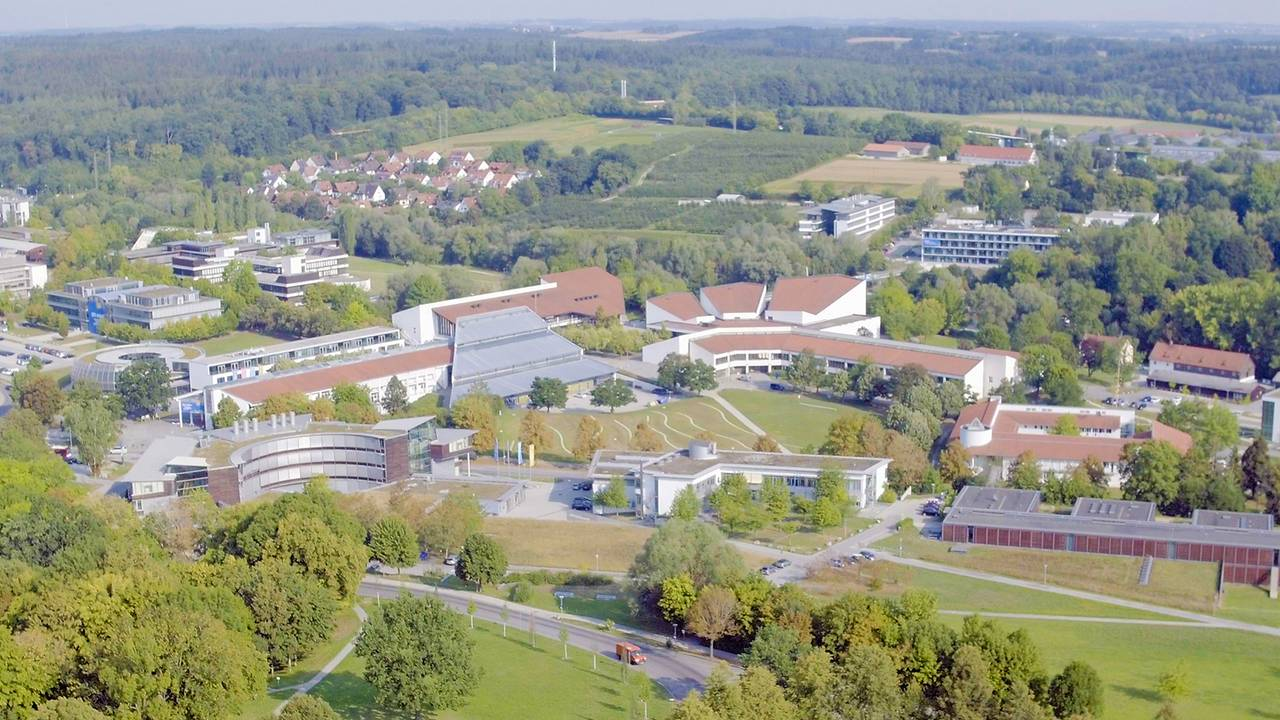 Aerial view of the Weihenstephan Campus, where the new building will be errected.