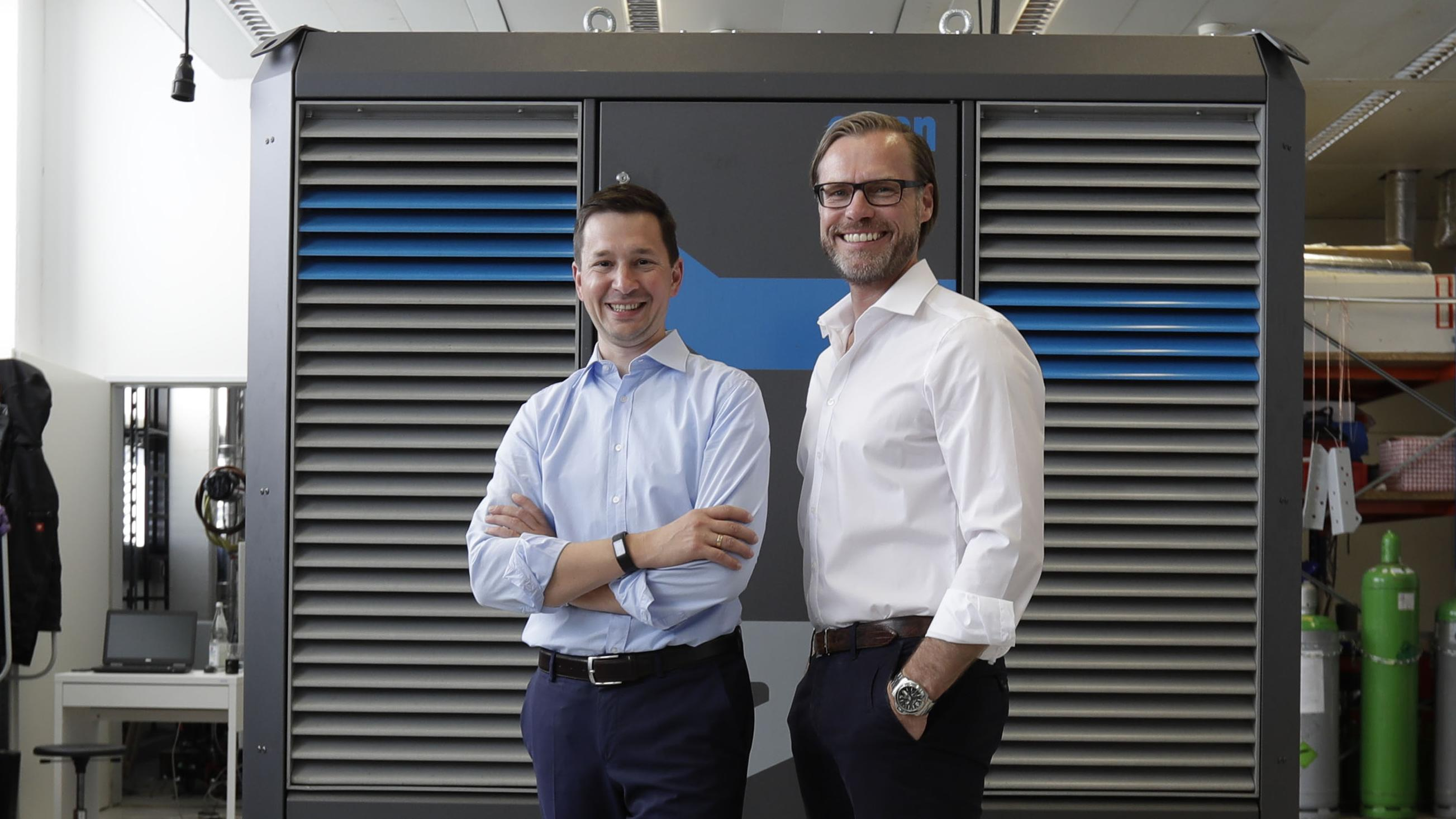 Andreas Sichert and Wolfgang Brand of Orcan Energy