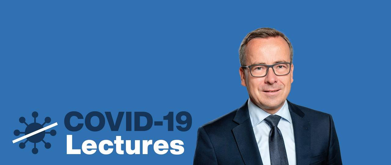 Covid-19 Lecture with Prof. Gunther Friedl