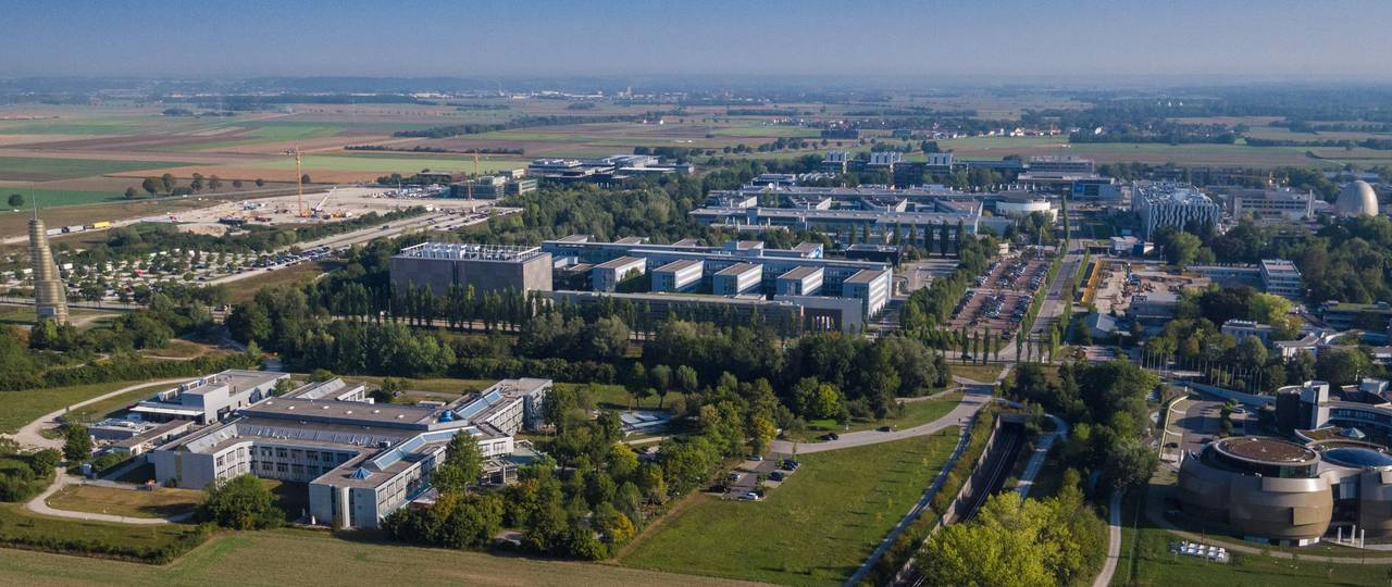 Aerial view Campus Garching
