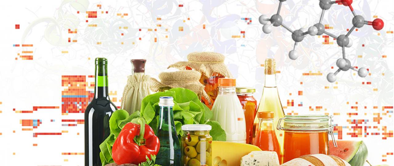 The typical aromas of foodstuffs are encoded by just a few key odors.