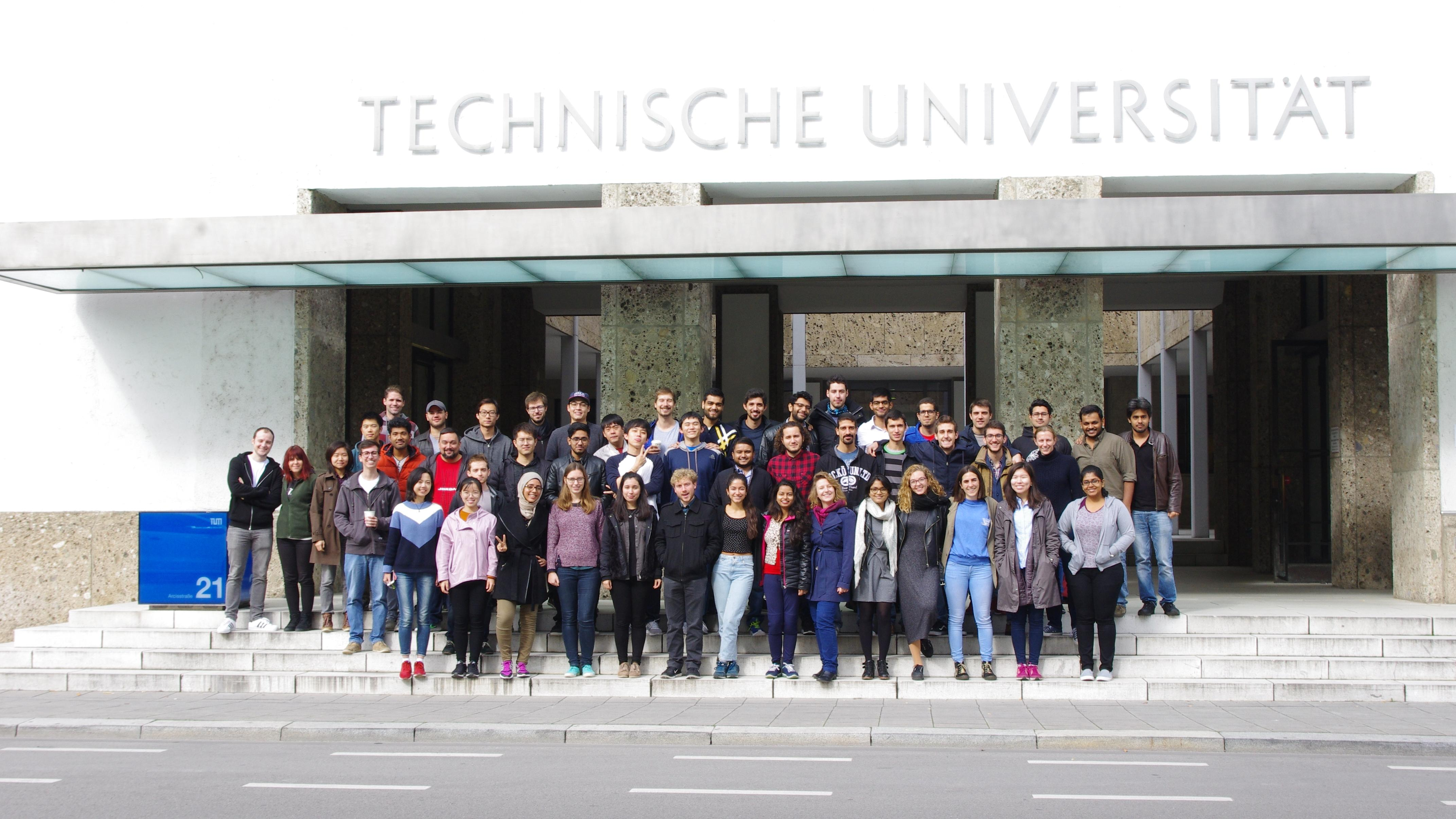 The Pre-Study Course group 2017 (Image: Laetitia Eichner)