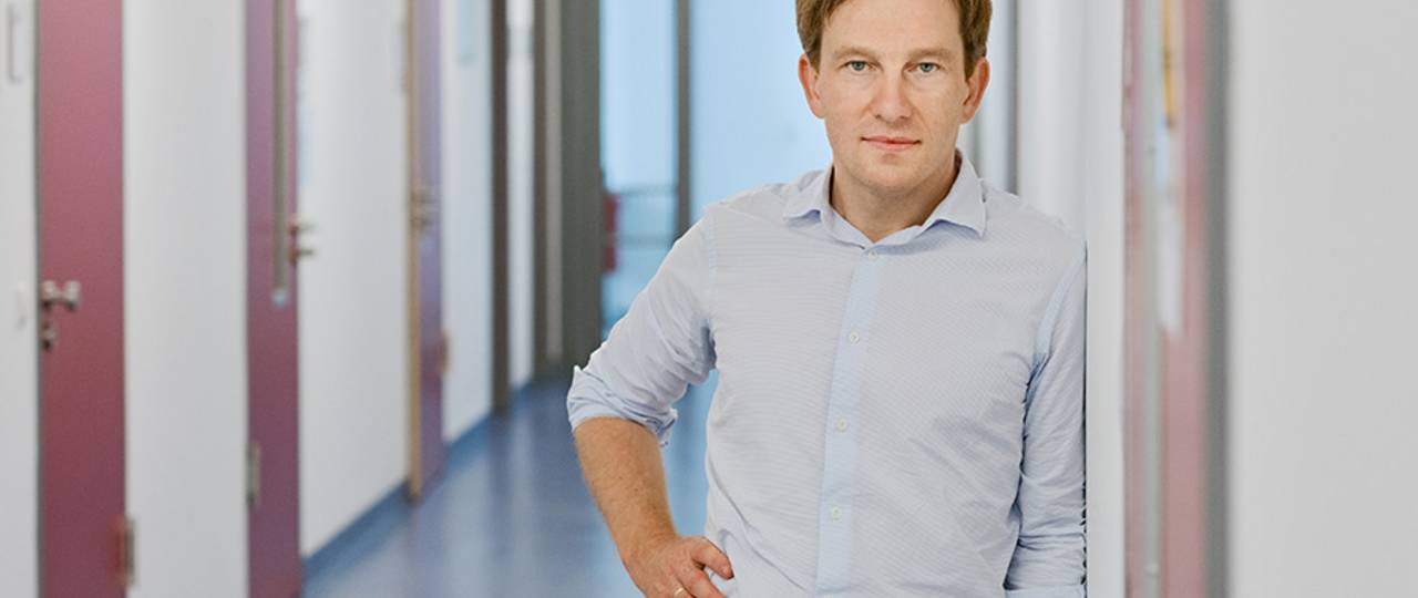 The research of Roland Rad and his team ist focused on molecular and translational aspects of cancer development. (Image: A. Heddergott / TUM)