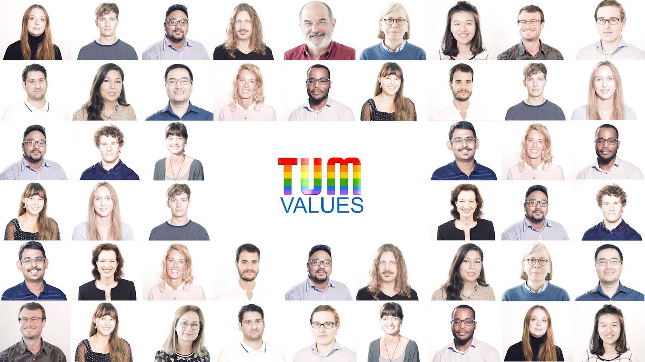 People at TUM: It is a diverse place but there is still so much that they have in common.