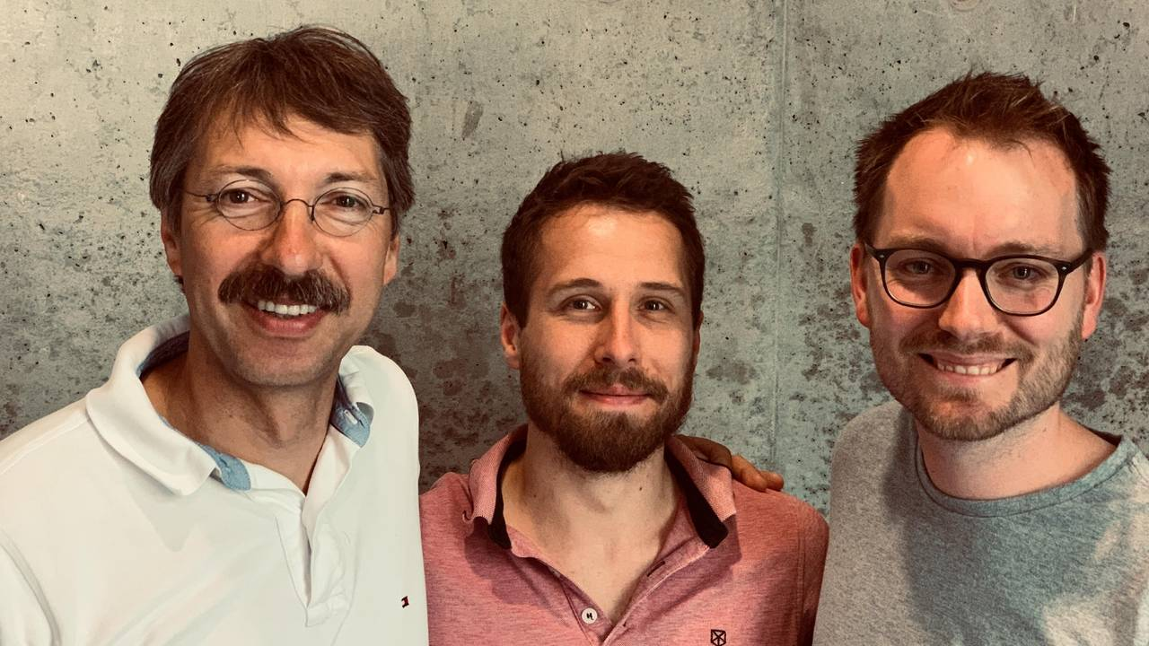 The study team of the Institute for Medical Microbiology, Immunology and Hygiene (from left to right): Prof. Dirk Busch, Thomas Müller and Kilian Schober