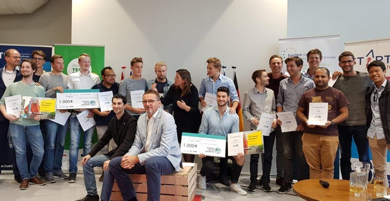 Group photo from the European Venture Program