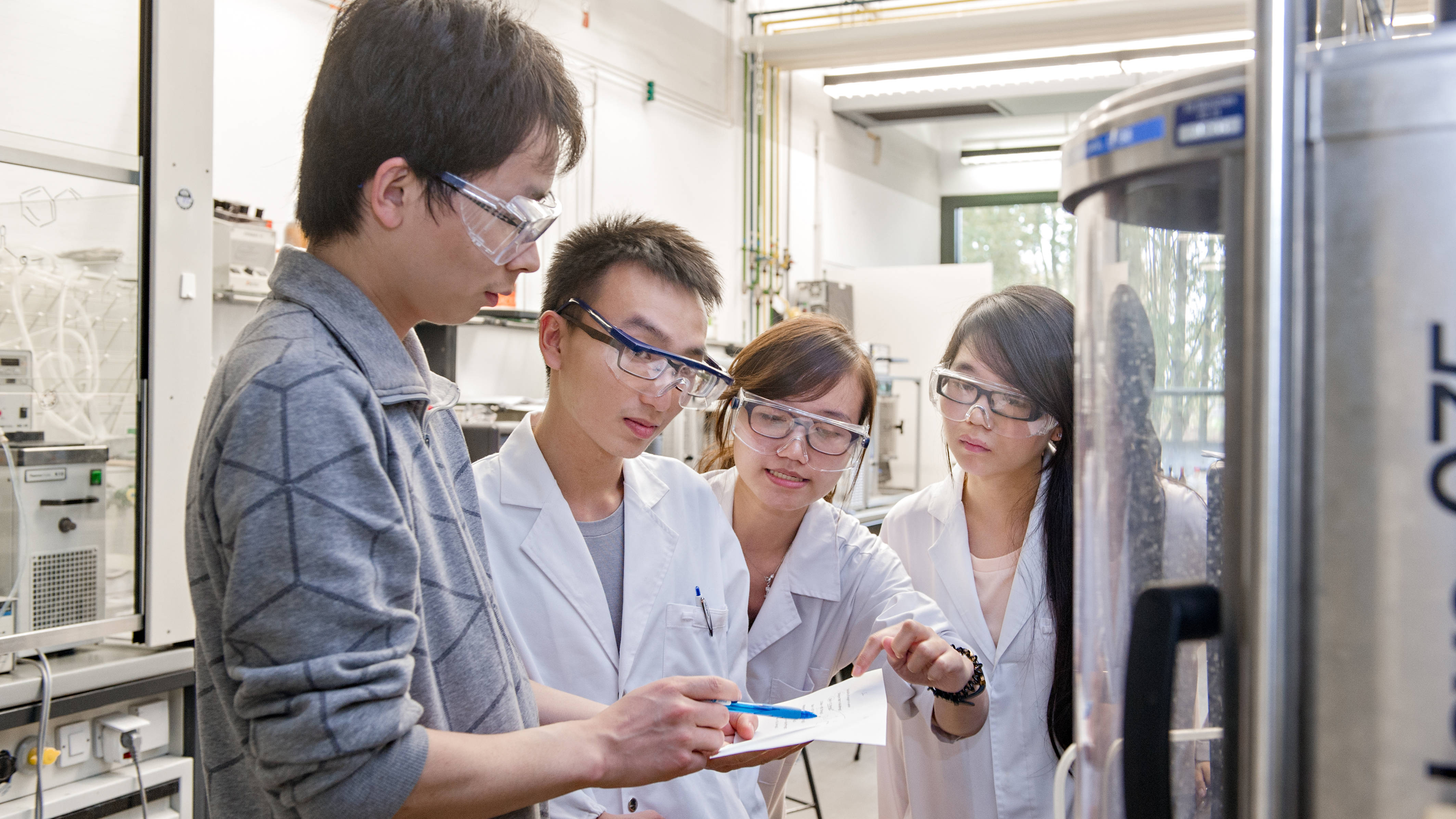Lab projects are part of NanoTECH
