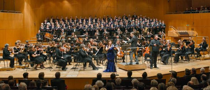 The advent matinee 2015 at the Philharmonic Hall at Munich's Gasteig music venue