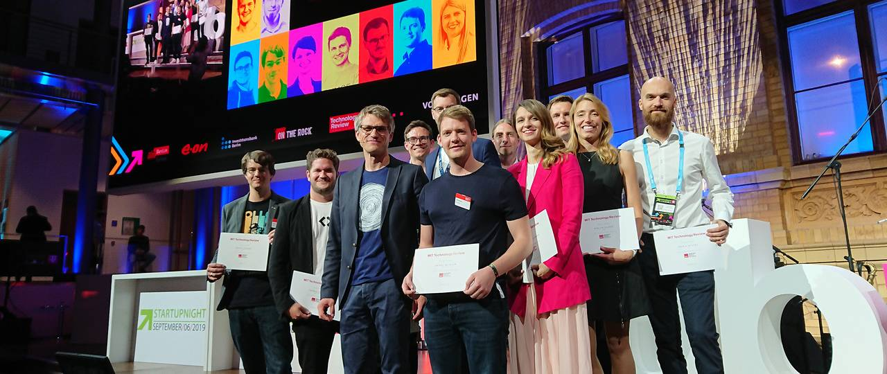 "Four ""Innovators under 35"" 2019 studied at the TUM and founded their start-ups with the support of TUM and UnternehmerTUM."