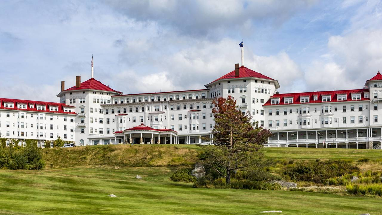 Das Mount Washington Hotel, Schauplatz der Bretton-Woods-Konferenz