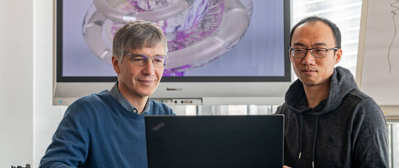 Prof. Dr. Werner Hemmert and Dr. Siwei Bai have developed a computer model which predicts the neuronal activation patterns that cochlea implants create in the auditory nerve.