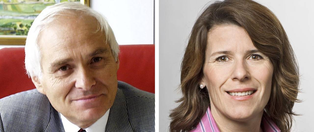 Prof. Heiner Bubb and Petra Marzin, TUM's new ombudspersons.