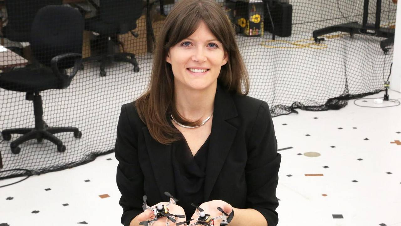 Prof. Angela Schöllig was selected for the Humboldt Professorship for Artificial Intelligence.