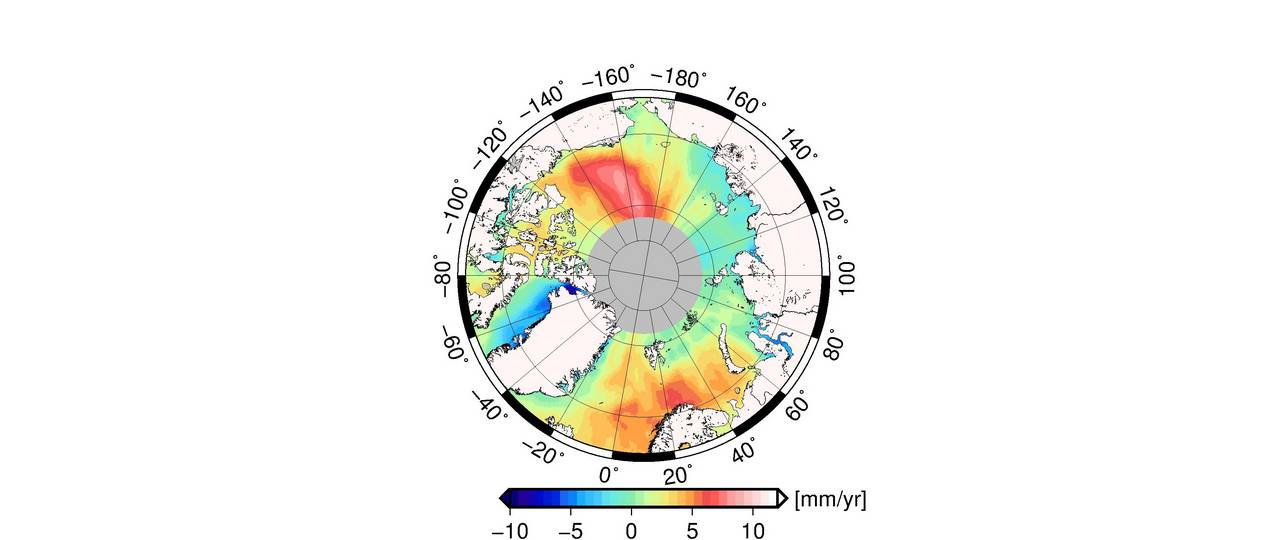 Meeresspiegelanstieg Karte.Tum Tracking Down Climate Change With Radar Eyes