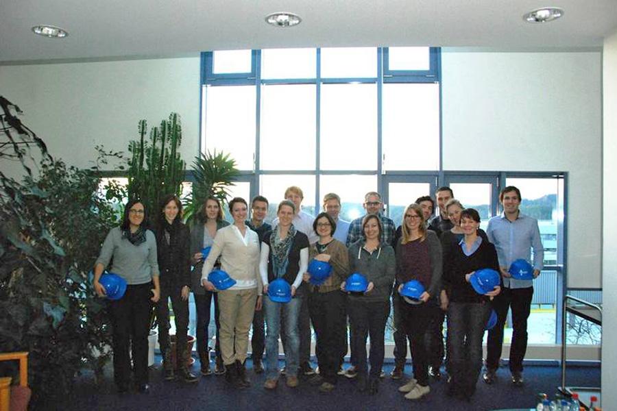 Die Stipendiaten der ALTANA AG (Foto: Privat)
