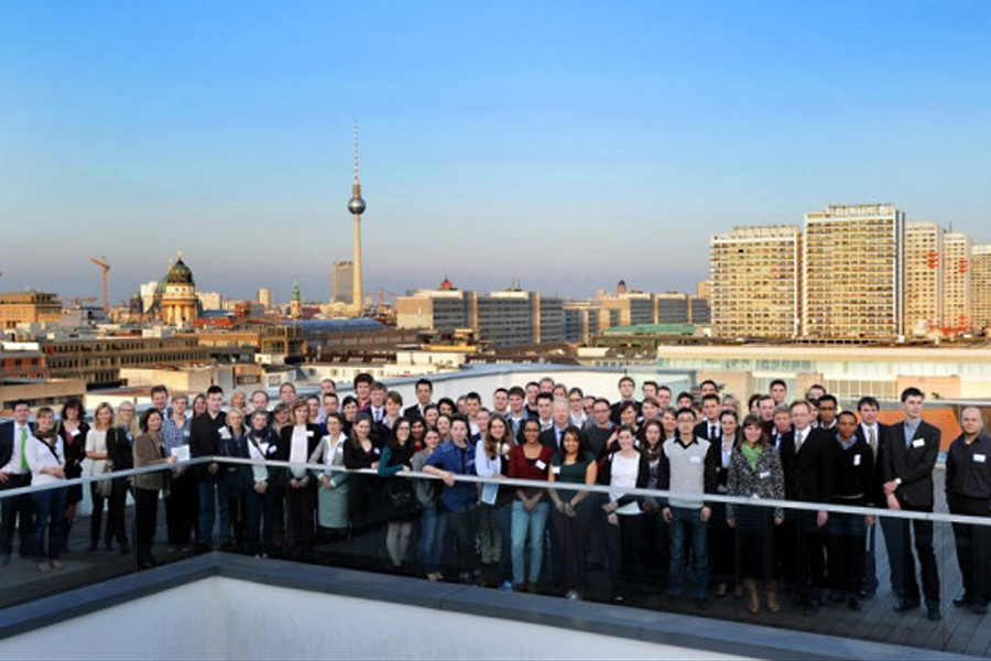 Stipendiaten der Bayer Science and Education Foundation in Berlin (Foto: Bayer)