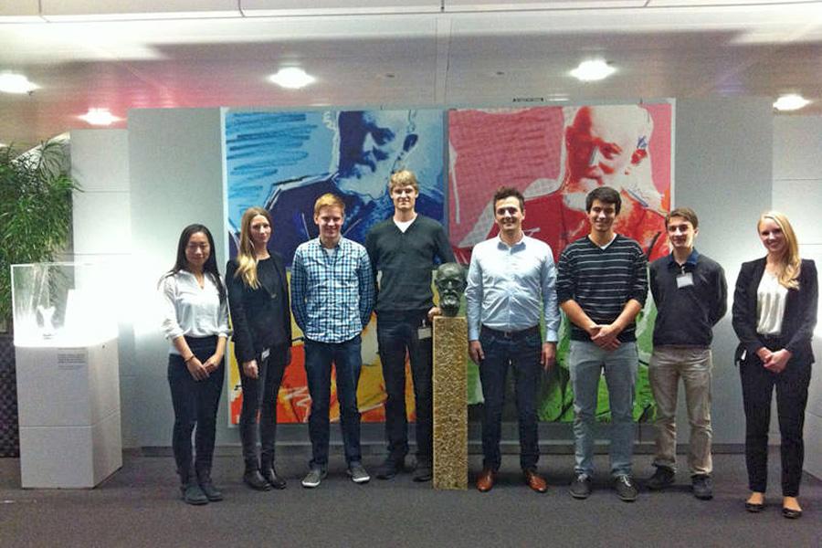 Stipentiatinnen und Stipendiaten bei Bosch Sicherheitssysteme