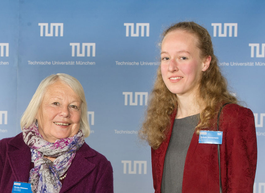 Stefanie Zimmermann bei Vestner (Foto: TUM)