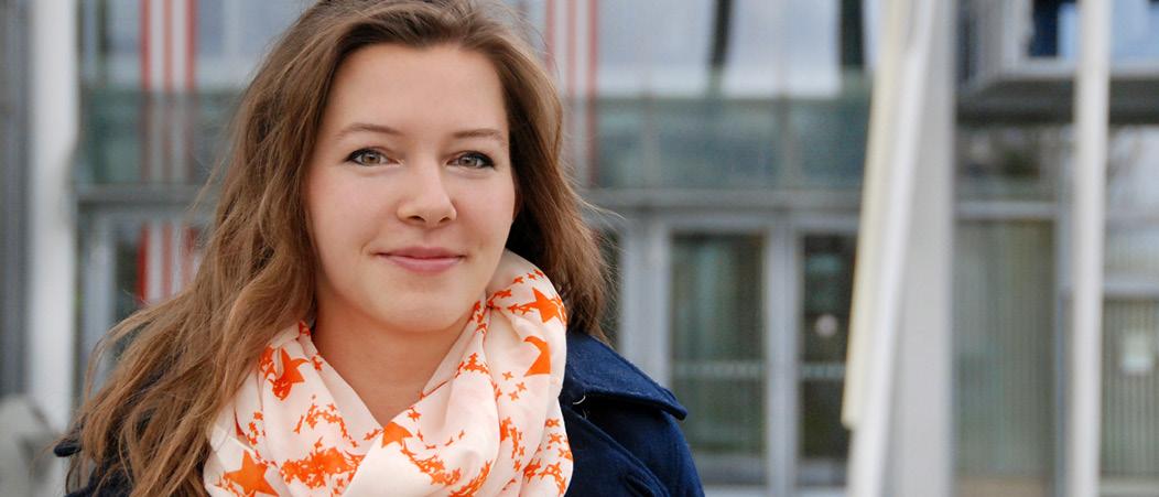 Scholarship holder Leonie Wulf