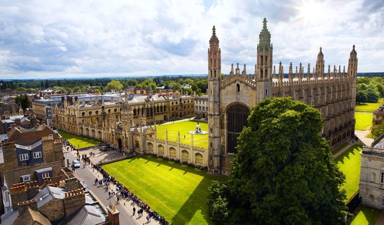 King's College an der University of Cambridge