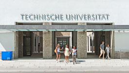 Haupteingang in der Arcisstraße, München