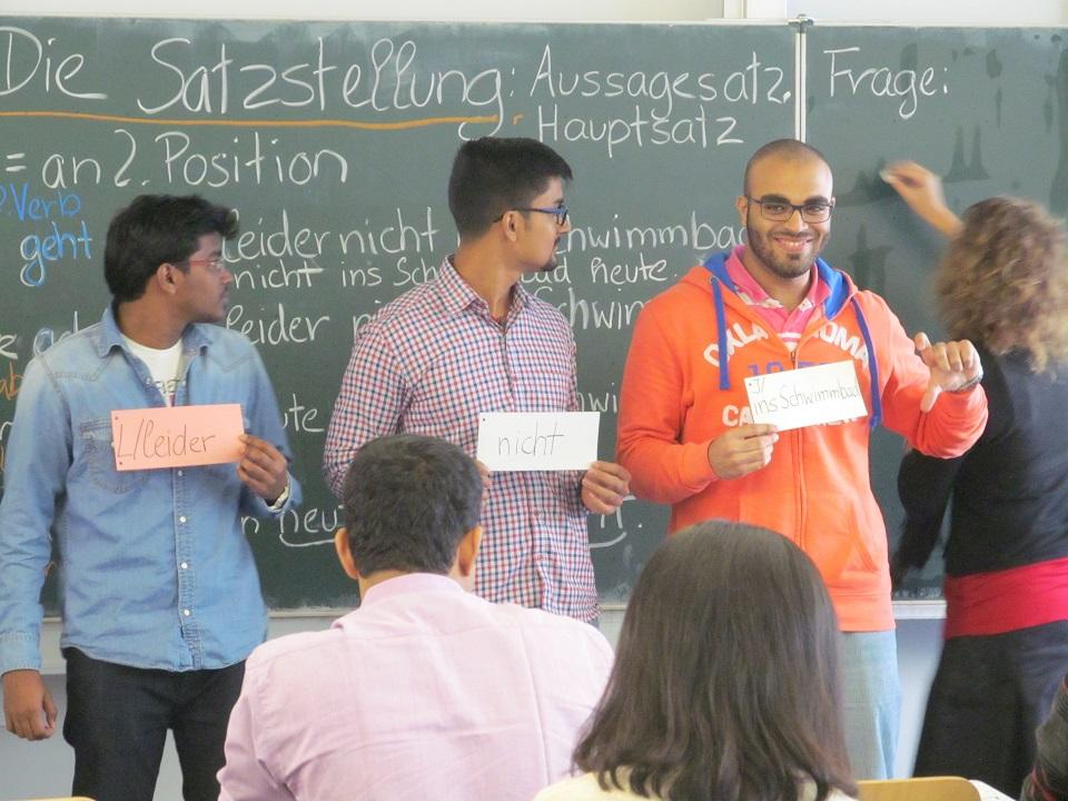 Interactive course makes learning German fun TUM (Photo: Merve Simsek)