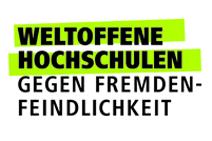 """Die TUM unterstützt die Initiative der Hochschulrektorenkonferenz (HRK) """"Weltoffene Hochschulen - Gegen Fremdenfeindlichkeit""""."""