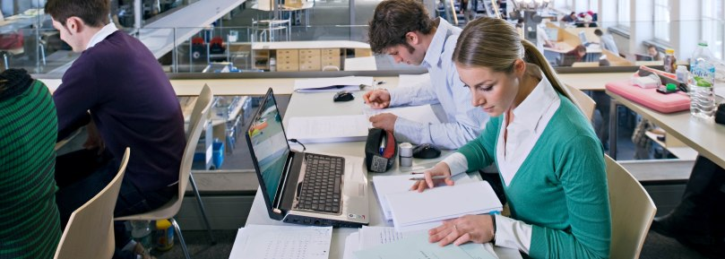 You are currently writing your bachelor's, master's or diploma thesis? We've compiled some tips and tricks for you (photo: Eckert/Heddergott)