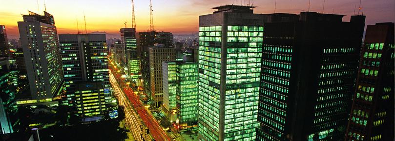 Sao Paolo bei Nacht