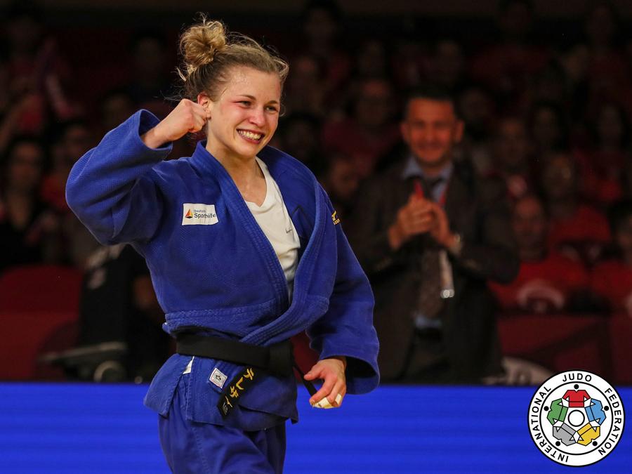 Judoka Theresa Stoll