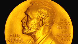 The Nobel Medal: The highest honor in the world of science.