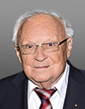 Portrait of Prof. Dr. Wolfgang Wild, Member of TUM University Council, Former President of Technical University of Munich (1980-1986)