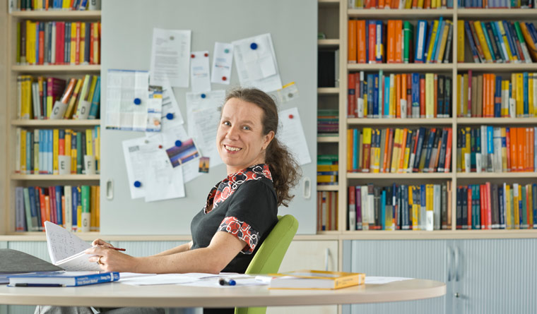 Mathematician and Leibniz awardee Prof. Barbara Wohlmuth