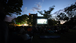 TU Film Open Air auf dem GARNIX-Festival.